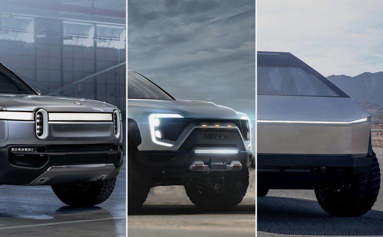 Elektromos pick-up modellek