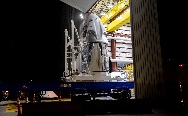 SpaceX Crew Dragon DM-2
