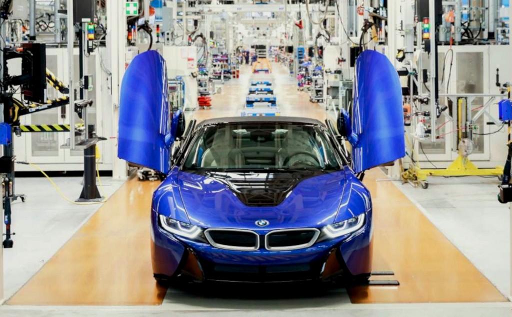 Az utolsó BMW i8