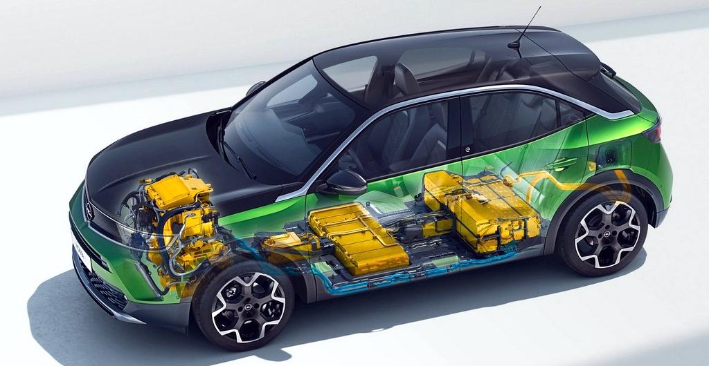 Opel Mokka-e CMA platform