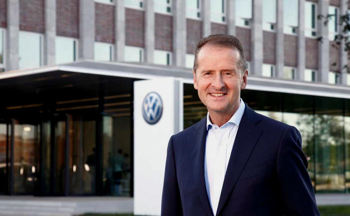 Herbert Diess Volkswagen CEO