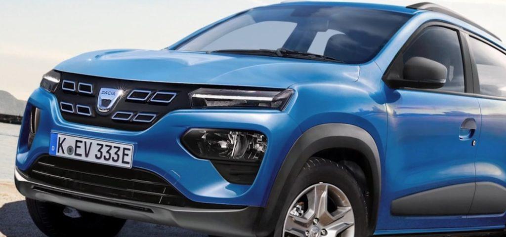 Dacia Spring EV mini crossover