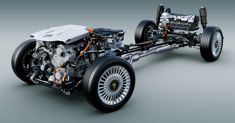 Toyota Century G60 Lexus Hybrid Drive
